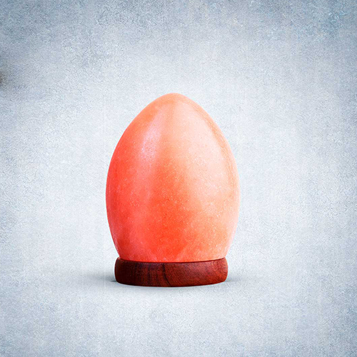 Himalayan Rock Salt Egg Shaped USB Lamp
