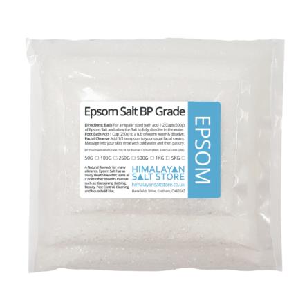 Epsom Salt – Magnesium Sulphate 50G-25KG