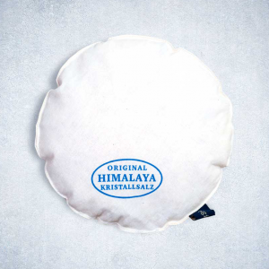 Pink Himalayan Rock Sal Heating Pad Cushion Round
