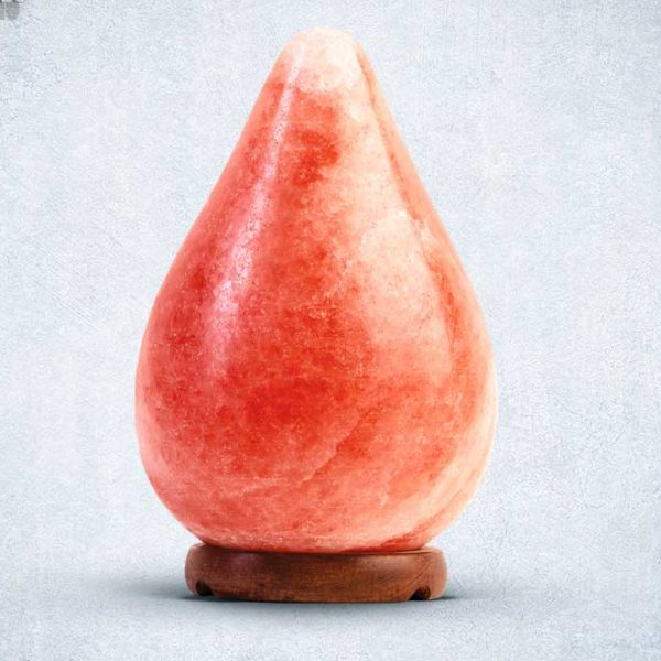 Pink Himalayan Rock Salt Lamp Teardrop