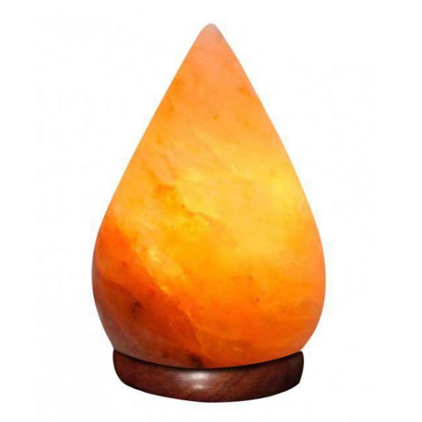 Pink Himalayan Salt Lamp Pear SHape