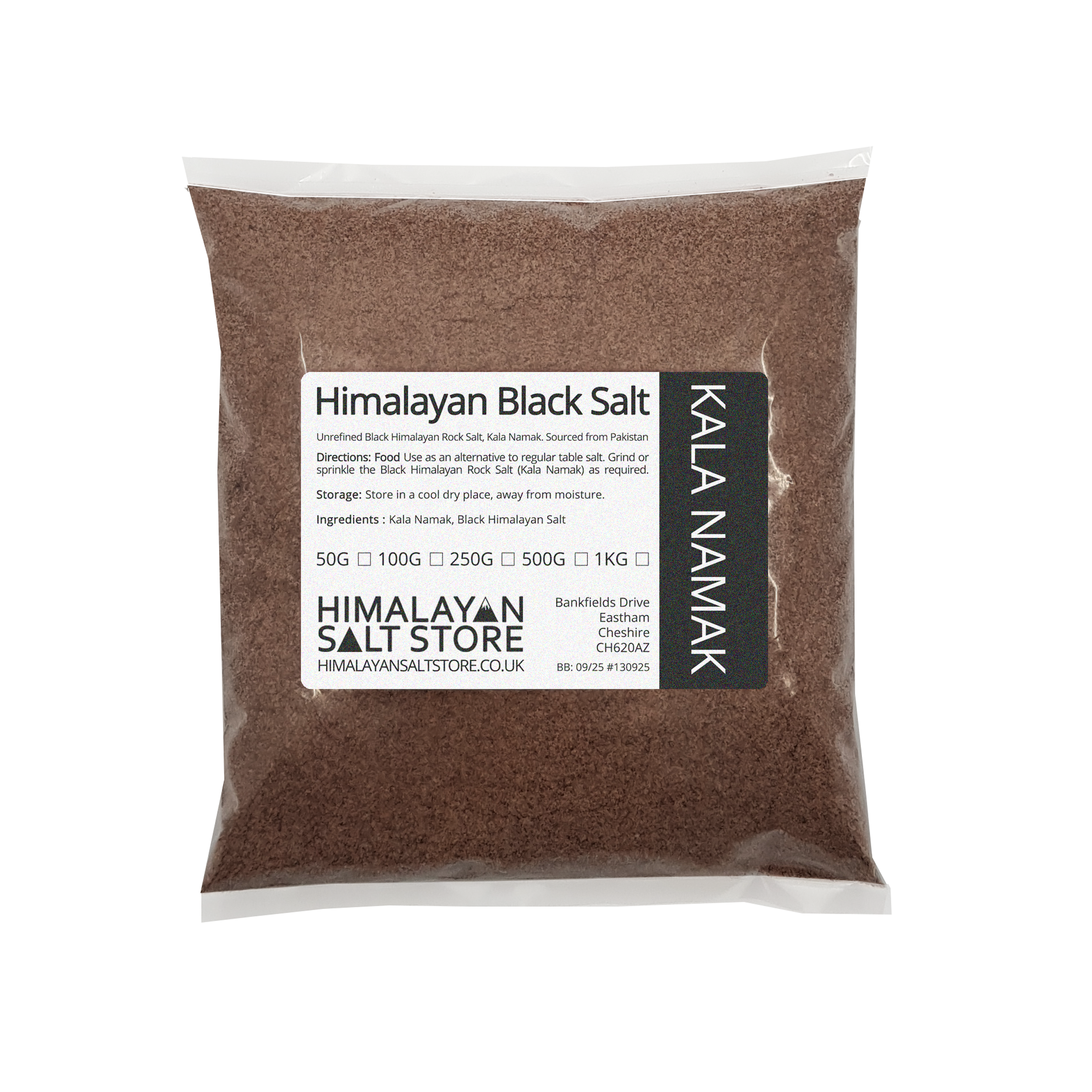 Kala Namak Black Himalayan Salt - Food